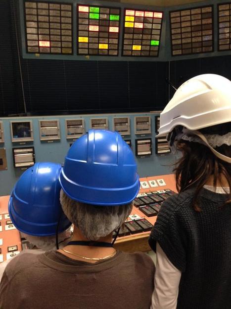 Retour vers le futur. Passage en salle de commande 70's après la découverte de la nouvelle salle numérique ! #JIE | Centrale thermique EDF du Havre | Scoop.it