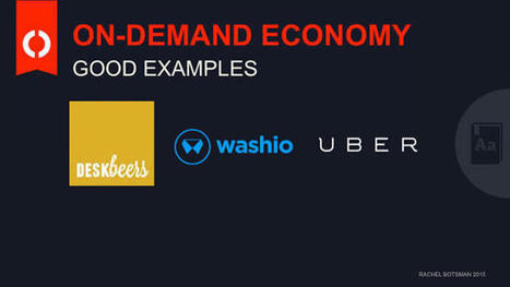 Defining The Sharing Economy: What Is Collaborative Consumption--And What Isn't? | INSIGHTMEMAJU | Scoop.it