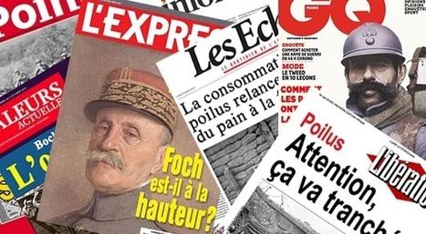 On a retrouvé les unes de journaux de la Première Guerre mondiale | Slate | CDI RAISMES - MA | Scoop.it