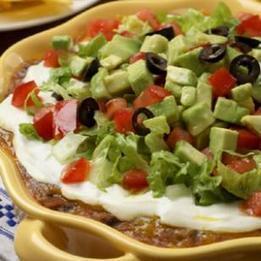 Southwestern Layered Bean Dip | 4-Hour Body Bean Cookbook | Scoop.it