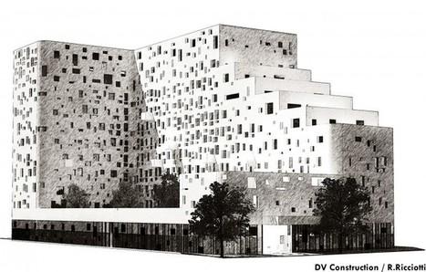 Rudy Ricciotti imagine un bâtiment mélant Université et Logements | Rudy Ricciotti | Scoop.it