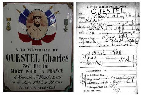 Le 36e RI : des Normands dans la Grande Guerre: La ferveur du souvenir | Tables à poussière | Scoop.it