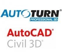 Graph Land et son offre AutoTURN PRO 3D + Civil 3D | AutoCAD | Scoop.it