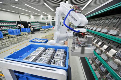 China's Manufacturers Are Shifting Towards Zero-Labor Factories | leapmind | Scoop.it