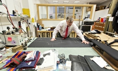 Savile Row tailor fears overseas threat to rich tapestry of tradition | year 13 OCR business studies | Scoop.it