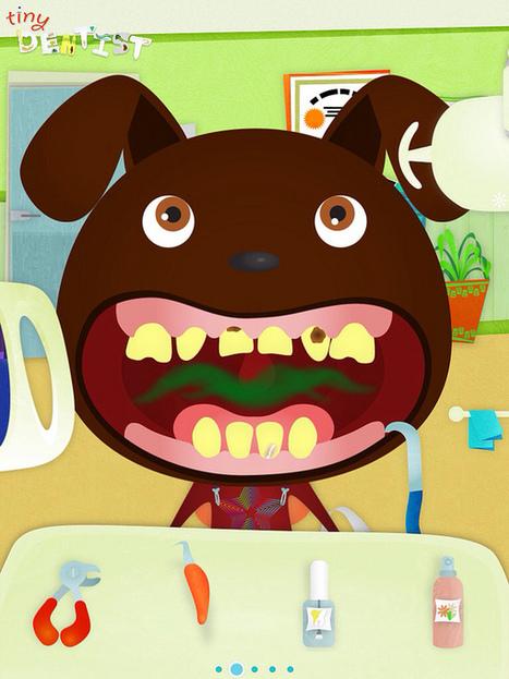 Zany iPad/iPhone App for Kids: Tiny Dentist - Under the Golden ... | Kids Dentist Marietta | Scoop.it