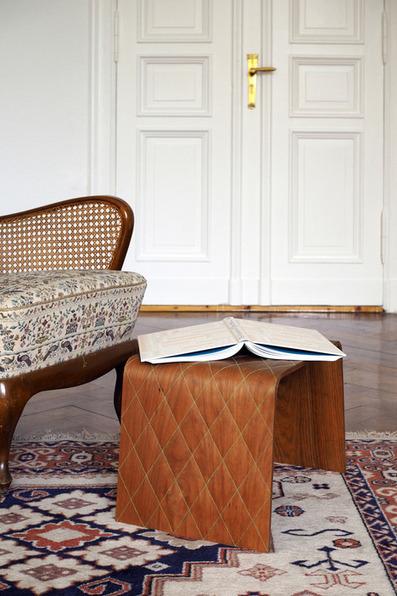"Et si on cousait le bois !! ""Chester Stitched Wood"" par Oya-Meryem Yanik & Anastasiya Koshcheeva | inoow design lab | Scoop.it"