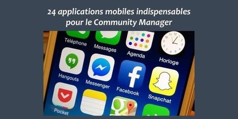24 applications mobiles indispensables pour le Community Manager | Les réseaux sociaux : ce qu'il faut savoir | Scoop.it