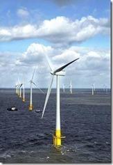 la plus grande ferme d'éolienne en mer en grande bretagne | Carré de Jardin | L'Angle de la Terre and Co | Scoop.it