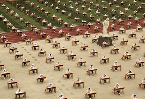 How People Around the World Take Exams | Geography Education | Scoop.it