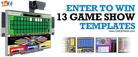 Enter to Win TV Game Shows for Teachers Sweepstakes | Ed Tech Anonymous | Scoop.it