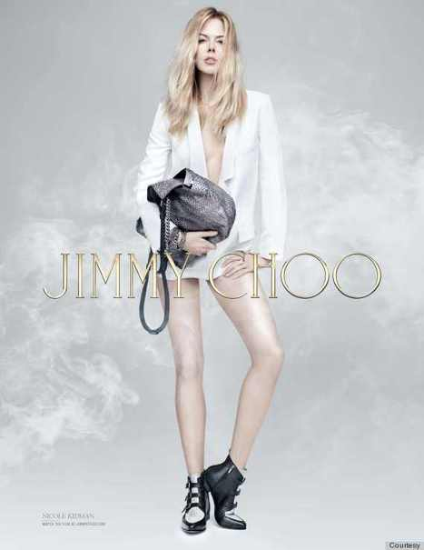 Nicole Kidman Forgoes Pants In New Jimmy Choo Ad - Huffington Post | Sex Marketing | Scoop.it