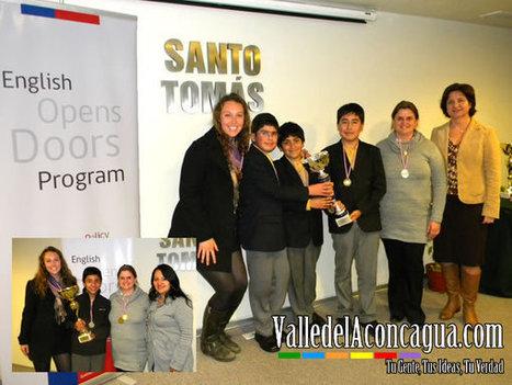 Liceo Bicentenario Cordillera fue el gran triunfador regional de competencia deinglés | Unconference EdcampSantiago | Scoop.it