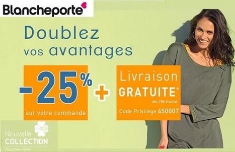 Code privilège Blanche Porte BE: 25% de remise plus livraison gratuite | code promo 2013 | Scoop.it