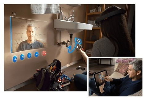 With HoloLens, the future of reality is augmented | Augmented reality tools and news | Scoop.it