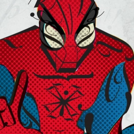 8 Superheroes as Fonts | An Eye on New Media | Scoop.it