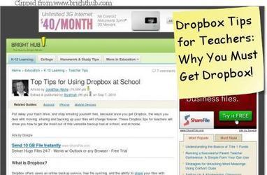 The Complete Dropbox for Educators | Tech the Plunge | PLE-PLN | Scoop.it