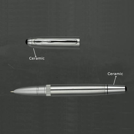Cermaic pen parts | I Love Tungstenjewelry | Scoop.it