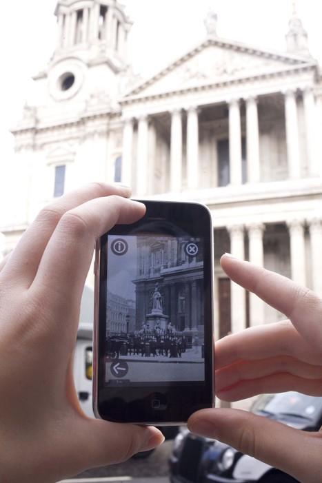 Historypin propose désormais une application - Plongez dans le passé augmenté ! | Education et TICE | Scoop.it