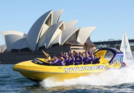 Sydney Harbour Jet Speed Boats - Jet Boat | Thunder Jet Boat Sydney | Jet Boating | Scoop.it