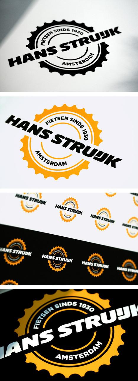 Hans Struijk Bicycles - Logos - Creattica | timms brand design | Scoop.it