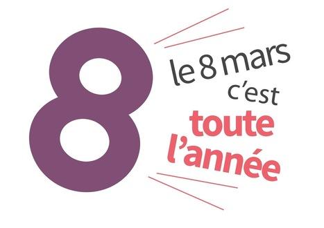 Le 8 mars, c'est toute l'année - Les Droits des femmes aujourd'hui | Médias 3D Fontainebleau | Scoop.it