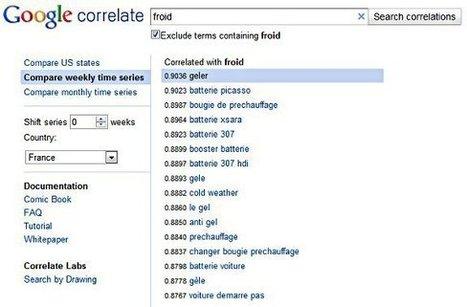 Comment Google Correlate peut-il aider à améliorer votre référencement ? | Time to Learn | Scoop.it