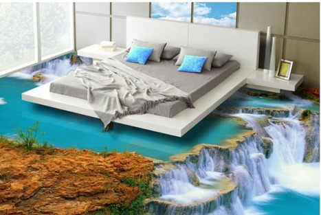 3D Flooring Lets You Roll Out of Bed into Paradise | Futurewaves | Scoop.it