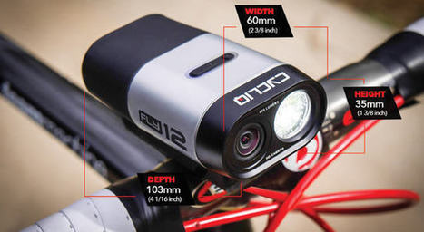 The Fly12: Full HD cycling accessory camera | Stock News Desk | Scoop.it