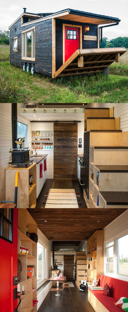 Eco-friendly tiny house offers reclaimed style and... - eco3tree | Eco Friendly | Scoop.it
