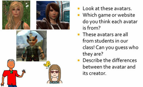 Lesson Plan: Who (avat)are you? | TeachingEnglish | Scoop.it