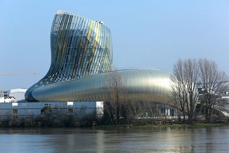 France's NEW wine theme park is now open and here are the first pictures from inside | The Architecture of the City | Scoop.it