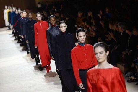 EN IMAGES. Fashion Week Paris : Hermès, chic et intemporel | INTERSTYLEPARIS  Fashion News | Scoop.it