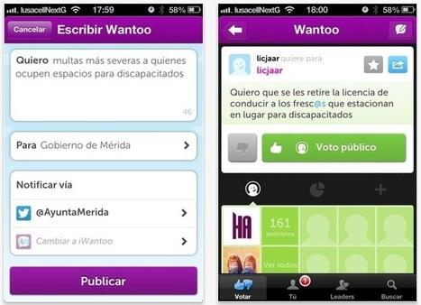 iWantoo, la aplicación iOS para enviar y apoyar peticiones públicas | Participacion 2.0 y TIC | Scoop.it