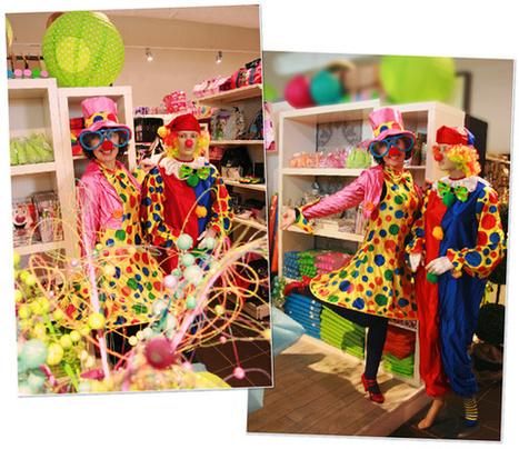 Carnaval : notre conseillère déco vous accueille déguisée en clown | Actualités de la boutique Tendances déco | Scoop.it