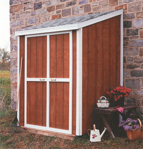 How to Build a Lean-To Shed | HomeTips | shed plans | Scoop.it