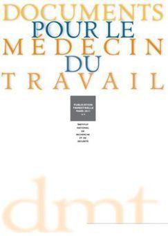 INRS - SUMER 2003. Les expositions aux risques professionnels des personnels soignants en 2003   Infirmières   Scoop.it