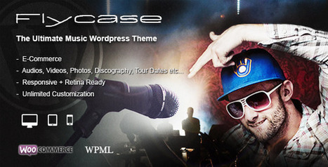 30 Pure music wordpress themes for Musician, Music Band and DJs | Digital Presence | Scoop.it