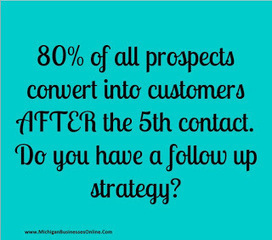 "Tracy G.J. Congdon ""Renegade Marketer"": Strategy # 4 out of 47, ""Follow Up With Your Prospect!"" 