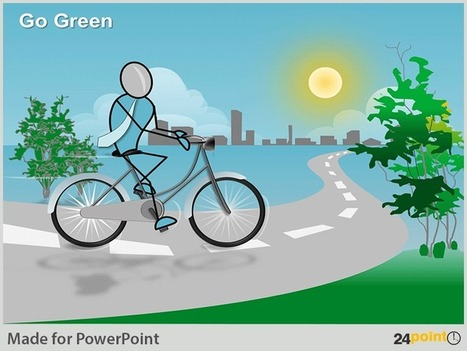 Putting a Green Spin on Business Initiatives with 24point0's PPT Graphics | PowerPoint Presentation Tools and Resources | Scoop.it