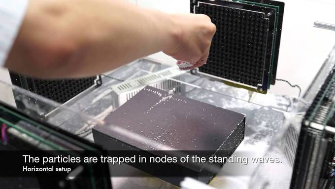 Three-Dimensional Mid-Air Acoustic Manipulation [Acoustic Levitation] (2013-) - YouTube