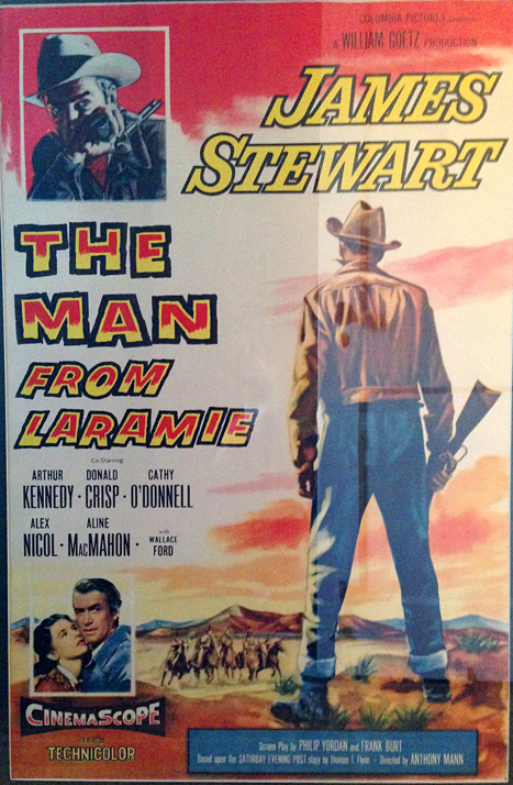 """My grandfather, Thomas T. Flynn, wrote """"The Man From Laramie"""", originally a pulp fiction series in the Saturday Evening Post. 