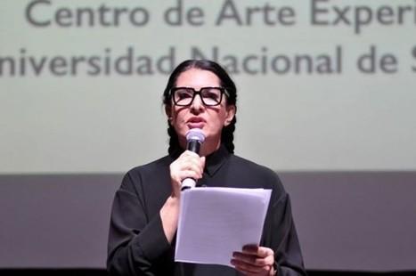 El sermón de Marina Abramovic. 'Manifiesto de la vida de un artista' | Libro blanco | Lecturas | Scoop.it