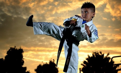 'Karate saved my son's life': Boy, 5, overcomes arthritis and immune disorder ... - Daily Mail   other contry   Scoop.it