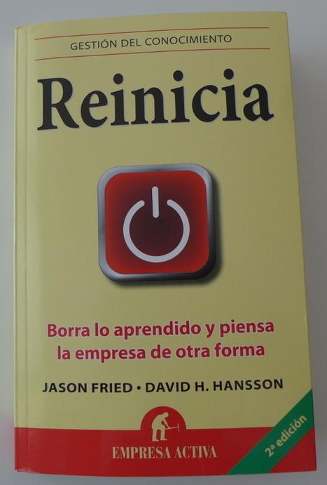 Reinicia, el libro que recomendaría a docentes como tú | APRENDIZAJE | Scoop.it