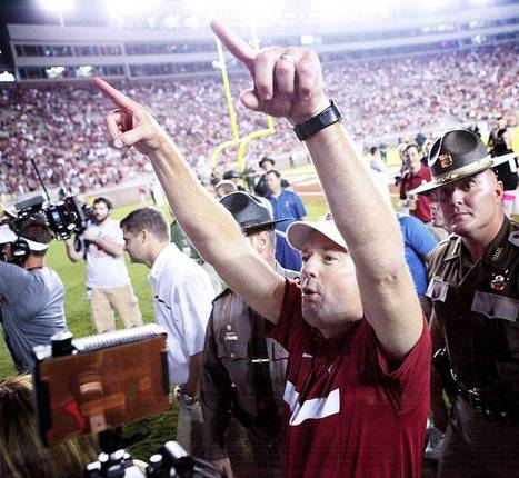 Stoops Concerned About Number Of Night Games Sooners Play In 2012 | Sooner4OU | Scoop.it