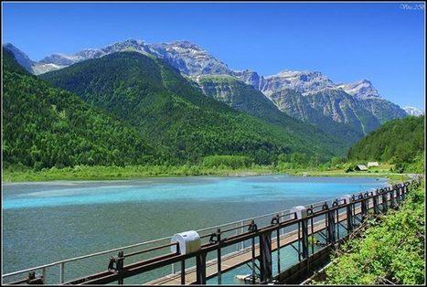Vallée de Pineta -  Véro Bontade Blanc sur PAISAJES DE ORDESA | Facebook | Vallée d'Aure - Pyrénées | Scoop.it