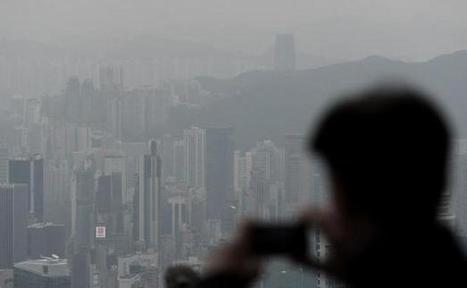 Hong Kong suffoque dans un nuage de pollution qui fait tousser les milieux d'affaires | Santé - Health | Science | Scoop.it