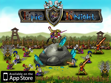 Epic Knight HD | Tharle Games | Free Games From indie iOS Developers | Scoop.it
