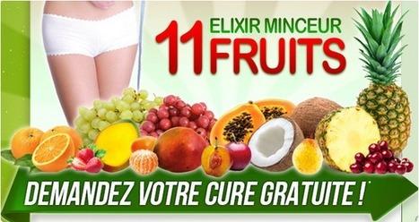 Elixir Minceur 11 fruits Revue - Perdez du Poids Naturellement sans Moments de Faim! | A blend of 11 fruits | Scoop.it